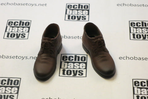 TOY CENTER Loose 1/6 Dress Shoes - Female (Brown) #TYL8-B200