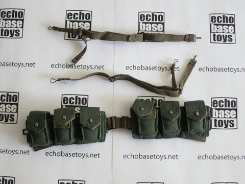 ALERT LINE 1/6 Loose WWII US M1937 BAR Ammo Belt w/Suspenders (OD) #ALL3-Y150