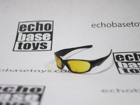DAM Toys Loose 1/6th  Sunglasses (Black/Yellow) #DAM4-A002