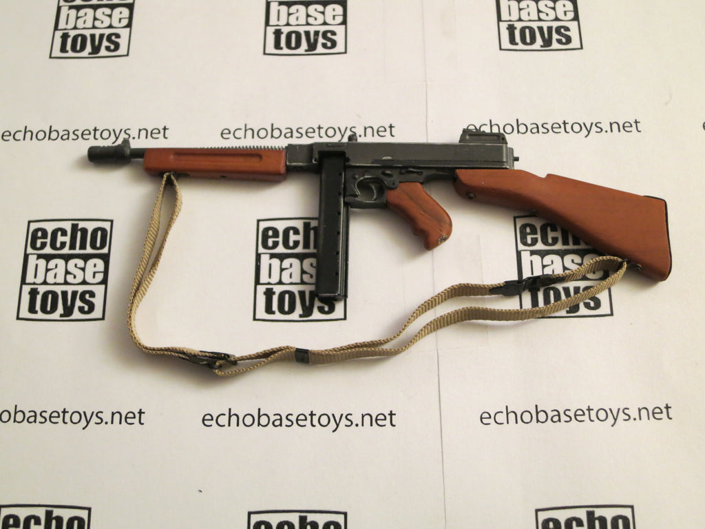 Soldier Story Loose 1/6th WWII BRITISH M1928A1 Thompson Submachinegun (Metal&Wood) #SSL2-W200