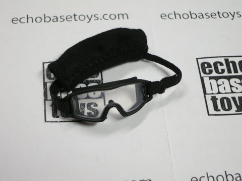FLAG SET Loose 1/6th Goggles - ESS Style (Black/Clear) Modern Era #FSL4-A220