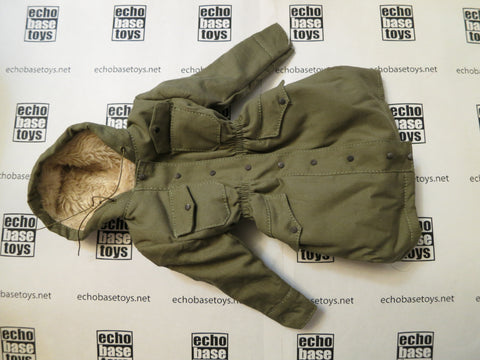TOYS CITY Loose 1/6 WWII German M43 SS Kharkov Winter Parka (Field Gray) #TCG1-C602
