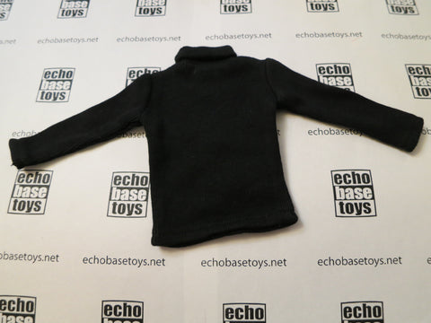 TOYS CITY Loose 1/6 WWII German Turtle Neck Sweater (Black) #TCG1-U950