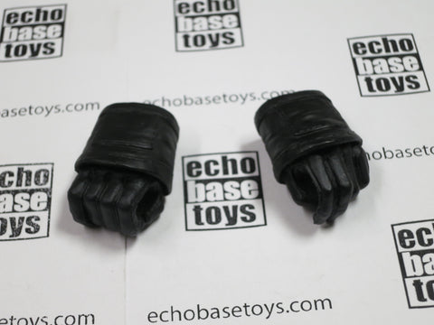 3A Loose 1/6th Hand Set (Gloved, Black,Pair) #3ANB-H025