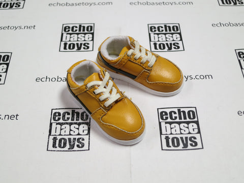 3A Loose 1/6th Sneakers AF1 Style (Yellow,Pair) #3AL4-B101