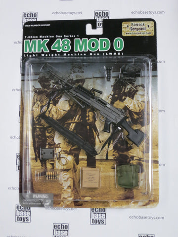 "BARRACK SERGEANT 1/6th 7.62mm Machine Gun Series 1 ""MK48 MOD0"" LWMG Set #BS-002/2007"