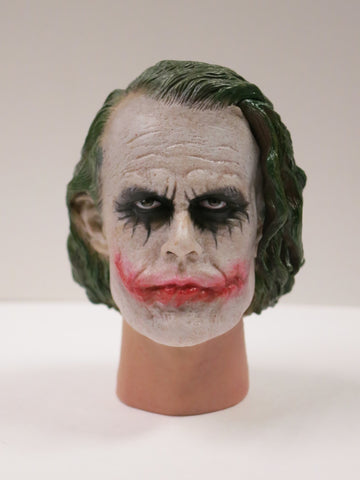 1/6 Loose Joker (H. Ledger) Custom Head Sculpt #MISC-X001