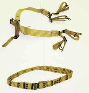 Soldier Story Loose 1/6th WWII USA M1936 Pistol Belt w/Suspenders #SSL3-Y102