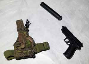 Soldier Story Loose 1/6th SIG P226 Hand Gun (w/Holster) #SSL4-W055