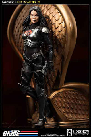 SIDESHOW TOY 1/6 Action Figure G.I. Joe Baroness Boxed Set #SST-100004