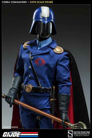 SIDESHOW TOY 1/6 Action Figure G.I. Joe Cobra Commander The Dictator Boxed Set #SST-100134