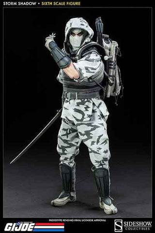 SIDESHOW TOY 1/6 Action Figure G.I. Joe Storm Shadow Assassin Boxed Set #SST-100140