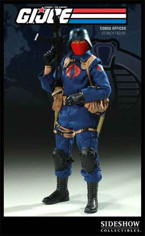 SIDESHOW TOY 1/6 Action Figure G.I. Joe Cobra Officer Boxed Set #SST-26122