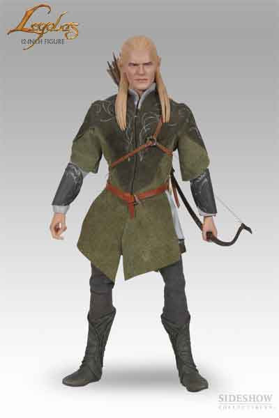 SIDESHOW TOY 1/6 Action Figure Lord of the Rings Legolas Boxed Set #SST-9208