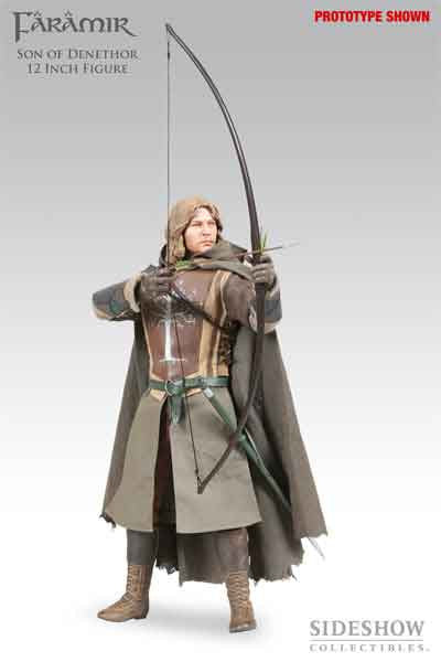 SIDESHOW TOY 1/6 Action Figure Lord of the Rings Faramir Boxed Set #SST-9211