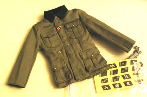 TOYS CITY Loose 1/6 WWII German M36 Tunic (w/Medals,Emblems) #TCG1-U100