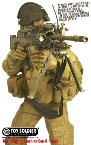 Toy Soldier 1/6th NSW Machine Gunner Gear Set (Desert Operation) Box Set (No Body/No Gun Included) #TS-335