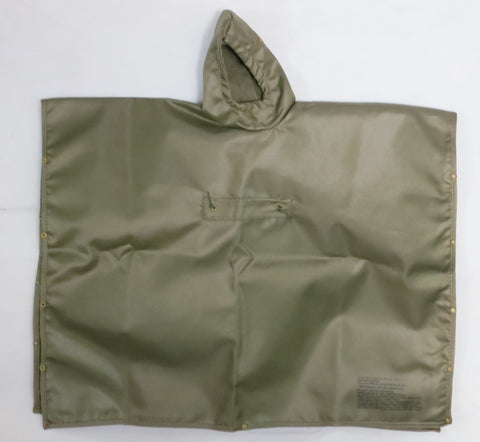 Toy Soldier Loose 1/6th Heavy-Duty Poncho Olive Drab Color Modern Era #TSL4-V800