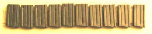 Toy Soldier Loose 1/6th 20rd M-16 Rifle Magazines (10/pack) Modern Era #TSL4-X101