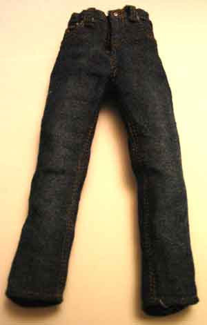 Toy Soldier Loose 1/6th Blue Denim Jeans (Female) Modern Era #TSL4-Z120
