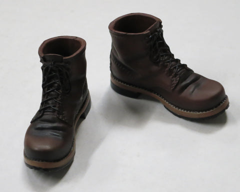 VIRTUAL TOYS Loose 1/6th Boots (Brown) #VTL4-B001