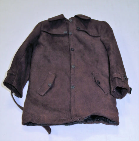 VIRTUAL TOYS Loose 1/6th Overcoat (Brown/Leather) #VTL4-U800