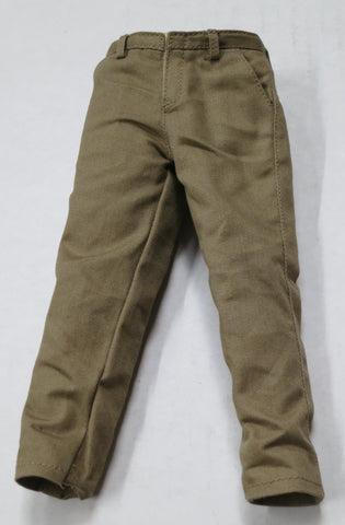 VIRTUAL TOYS Loose 1/6th Pants (Khaki) #VTL4-U850