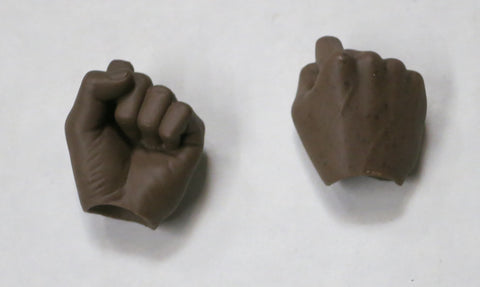 VIRTUAL TOYS Loose 1/6th Hands (AA, Pair, Fists) #VTNB-H010