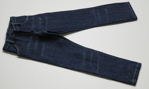 ZY TOYS Loose 1/6 Modern Jeans (Denim/Blue/Male) #ZYL9-U500