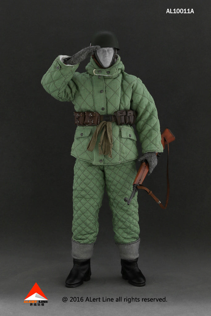 ALERT LINE 1/6 WWII German Wehrmacht Paratrooper (Fallshirmjager) Winter Accessory Set A #AL-10011A