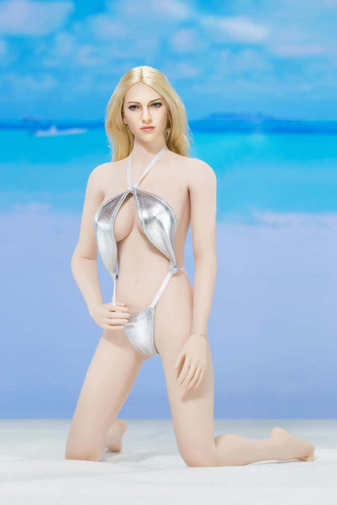 "AC PLAY 1/6 Swimming Suit Clothing Accessory Set B ""Silver"" #AP-ATX016B"