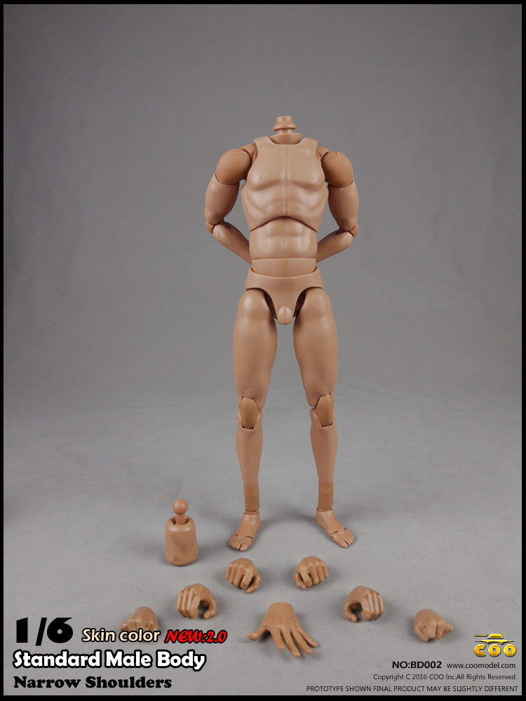 COO MODEL 1/6 Male Standard Body 2 0 Action Figure Set (Tall Height)  #CM-BD002