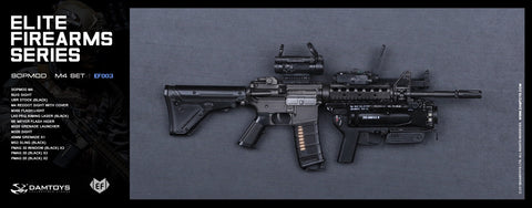DAM Toys 1/6 ELITE FIREARMS SERIES SOPMOD II M4 Accessory Set #DAM-EF003