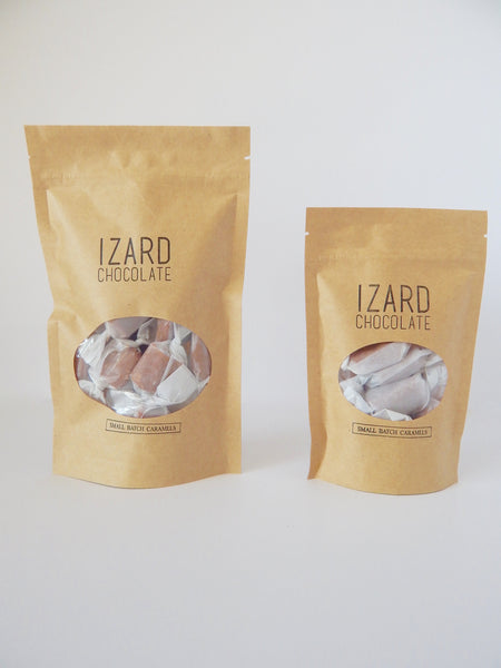 Large and Small bag of Caramels