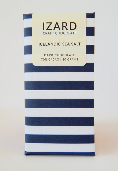 Icelandic Sea Salt - Reykjavik, Iceland - 70% Dark Chocolate