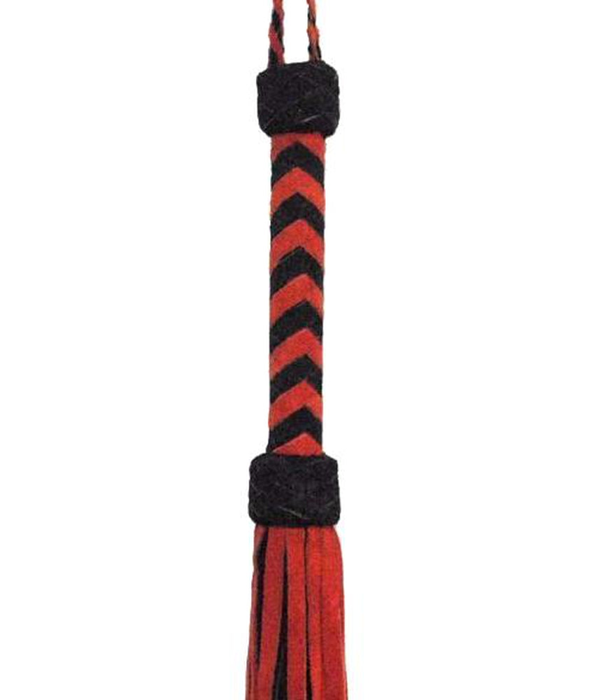 "30"" Suede Flogger in Red"