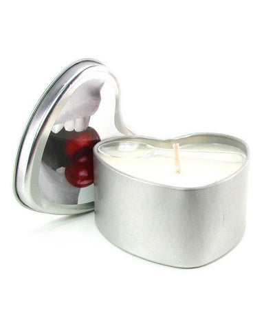 Earthly Body Edible Massage Oil Candle Strawberry