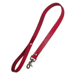 Red Leather Leash, 2.5
