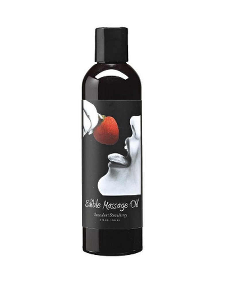 Edible Massage Oil Strawberry