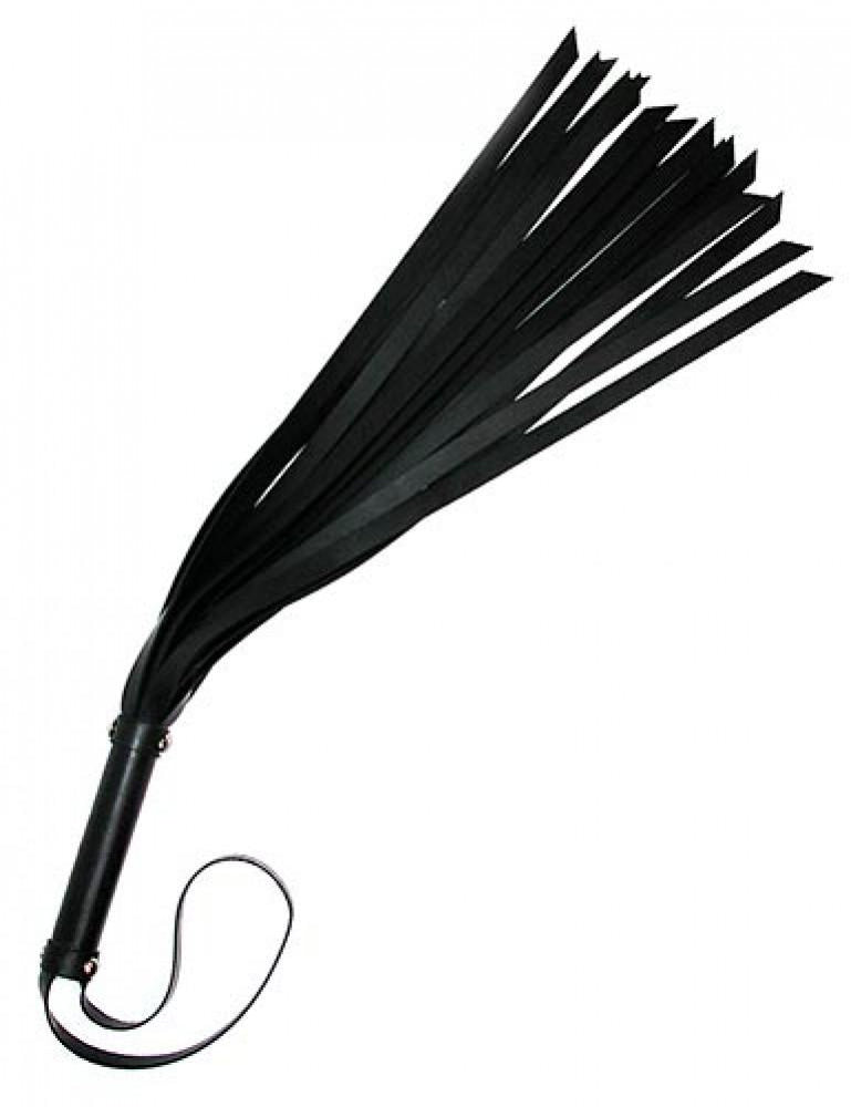 Leather Flogger 18""