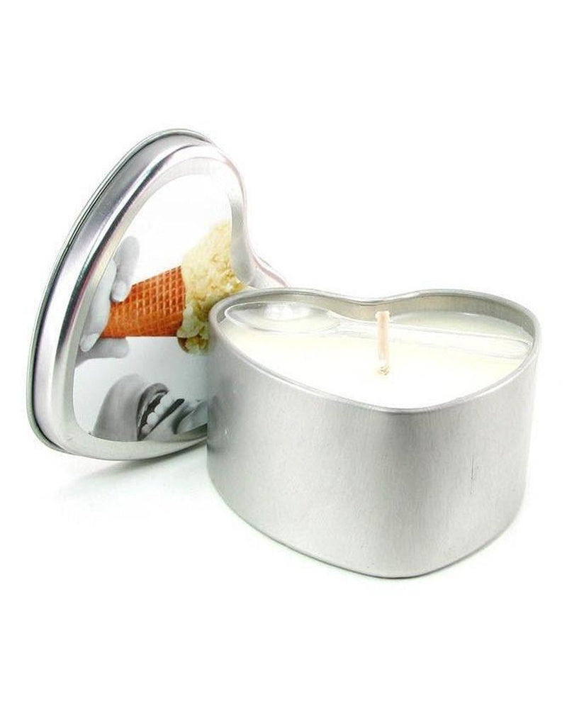 Earthly Body Edible Massage Oil Candle Vanilla