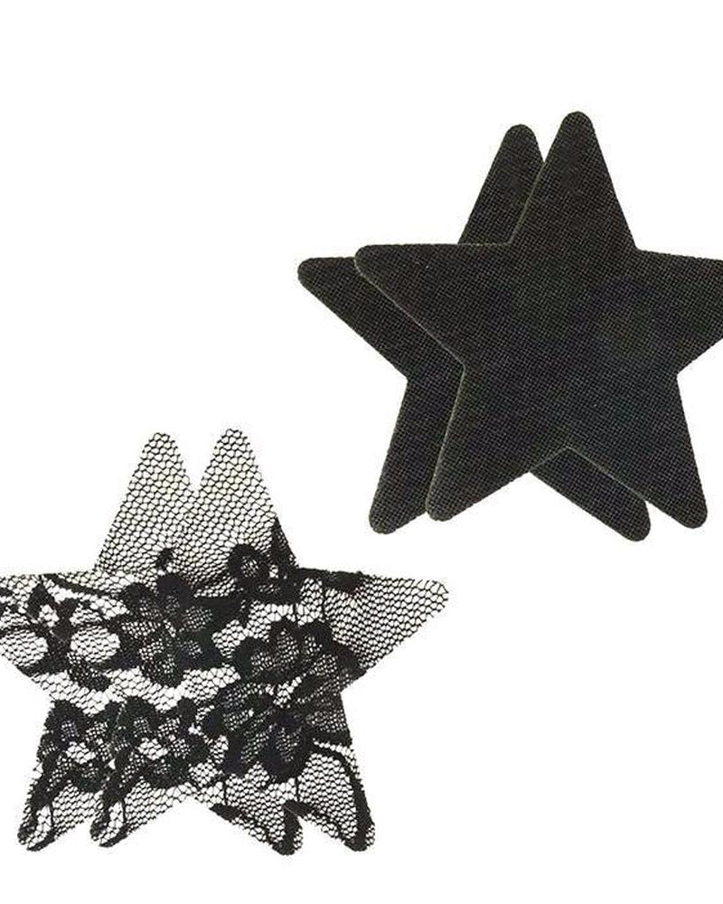 Satin and Lace Star Pasties