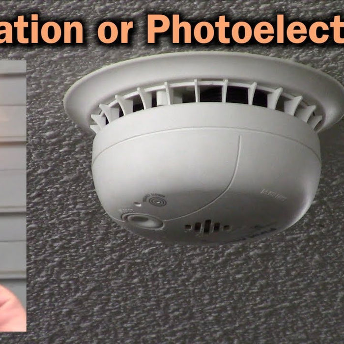 What is Ionization and Photoelectric Sensing Technologies in Smoke Alarms