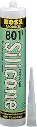 Soudal Accumetric 04073CL12 3OZ tube clear boss 801 silicone sealant