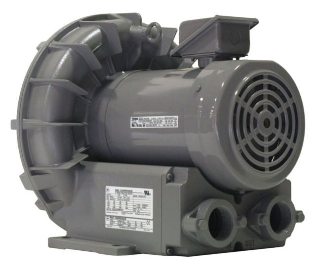 Fuji Electric VFZ501A-7W 2.9Hp 208-230/460V 3Ph Commercial Ring Blower ( Replacement Of Vfc400P-5T Blower)