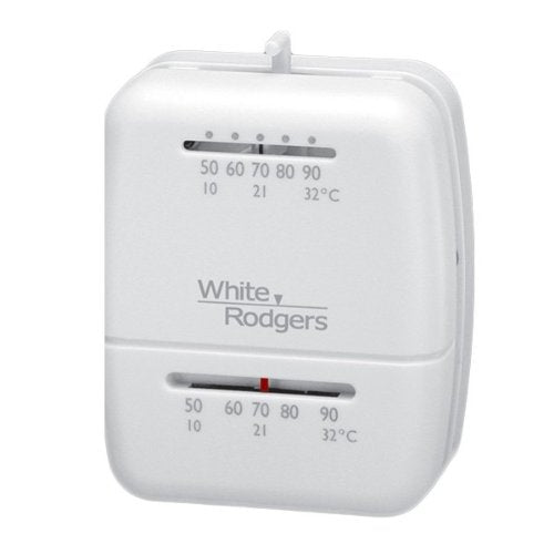 White Rodgers 1C26-101 Thermostat, 50 To 90 Degrees F