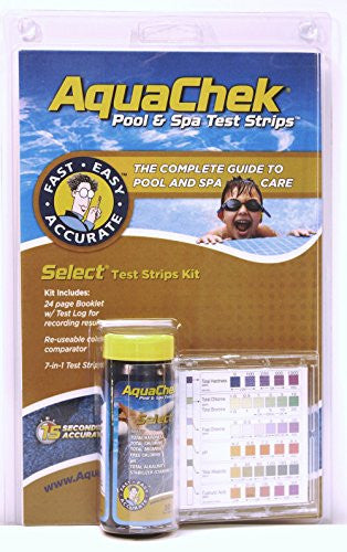 Aquachek Select 7-In-1 Pool And Spa Test Strips Complete Kit - Improve Wholesale