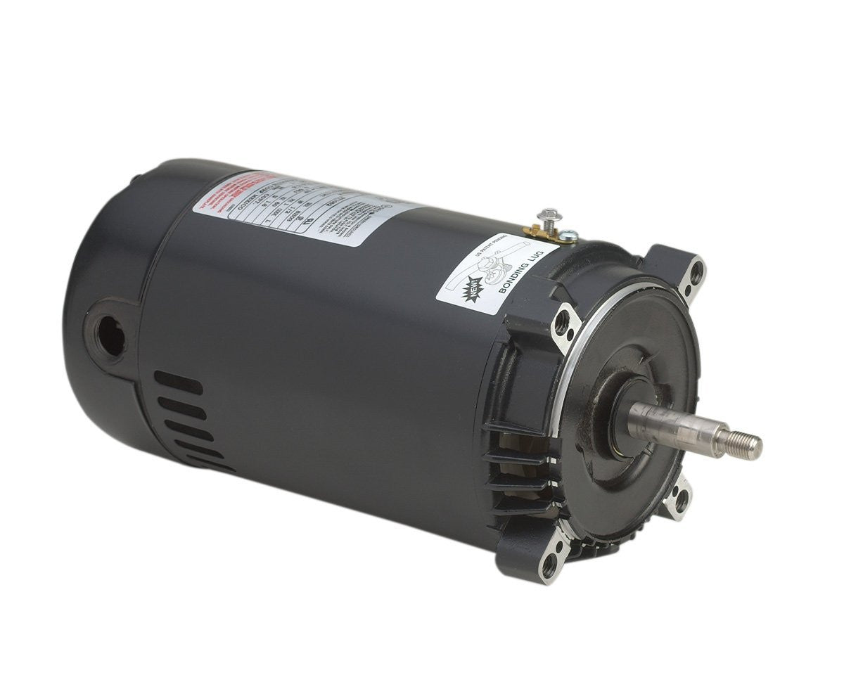 A.O. Smith Ust1072 3/4 Hp, 3450 Rpm, 1 Service Factor, 56J Frame, Capacitor Start, Odp Enclosure, C-Face Pool Motor - Improve Wholesale