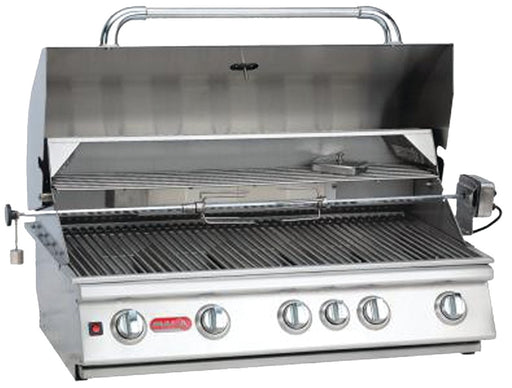 "Bull Outdoor Products 57569 38"" Brahma 5-Burner Natural Gas Grill with Light"