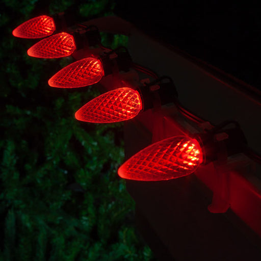 Wintergreen 72645  C9 red optiCore tm led  christmas bulbs